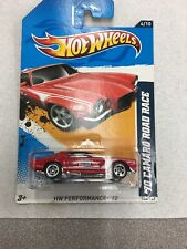 Hot Wheels '70 Camaro Road Race Red#144 /2012 HW Performance '12 New On Card B15
