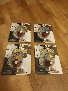 Pokemon series #25 Poke Ball dewott scraggy pignite servine figures keyring new