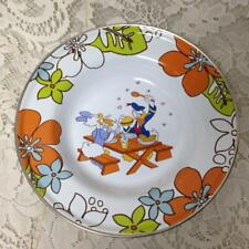 Disney, Donald Duck and Daisy Childs Enamelware Lunch or Snack Plate
