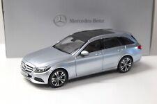 1:18 Norev Mercedes C-Klasse T-Modell silver DEALER NEW bei PREMIUM-MODELCARS