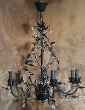 Fredrick Ramond Mime 4 Light Chandelier in French Bronze*