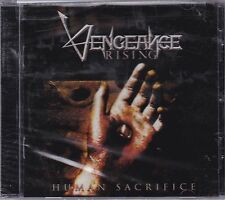 VENGEANCE RISING - HUMAN SACRIFICE (*NEW-CD, 2010, Intense Millennium) Reissue!