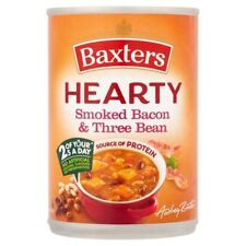 Baxters Hearty Bacon & Three Bean Soup - 400g (0.88lbs)