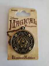 Disney DLR 2017 Magical Timepieces Mr. Toad's Wild Ride pin LE Ichabod