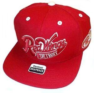 Reebok Detroit Red Wings Winter Classics Snapback Hat