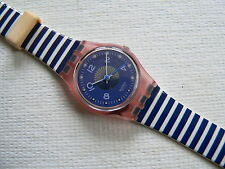 1991 Swatch watch for Ladies Polka  LP109M Never worn band is straight
