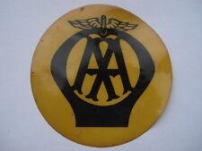 RARE C1950S AA (Automobile Association) en Plastique Voiture Fenêtre Membership Disc