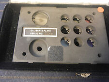 Spectrophotometer Calibration Plate