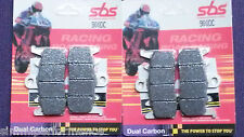 SBS Dual Carbon FRONT BRAKE PADS 900DC