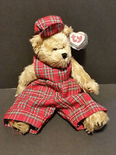 "1993 Ty Collectibles Plush 12"" Scotch the Bear"