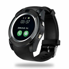 New Bluetooth Smart Watch For Android & IOS Devices Built in Mic & Speaker V9