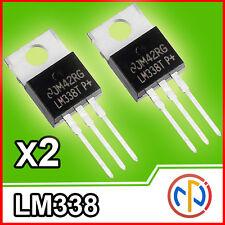 2x LM338 stabilizzatore di tensione da 1,2V a 32V 5A regolabile