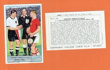 FERENC PUSKAS & FRITZ WALTER SOCCER CARD 1966 LIEBIG MILANO (NO PANINI) UNGHERIA