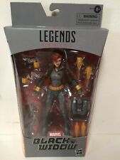 """Marvel Legends Black Widow Gray Suit Walmart Exclusive 6"""" Hasbro (GOOD PAINT)"""