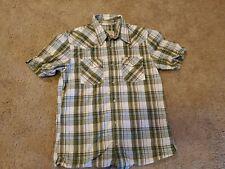 Men's Hollister Snap Button Shirt Small Western Style