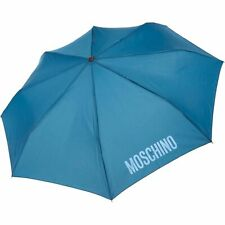 Moschino Automatic Up And Down Umbrella Blue