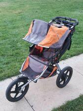 Bob Sport Utility Single Jogging Stroller Orange fully functional hand break