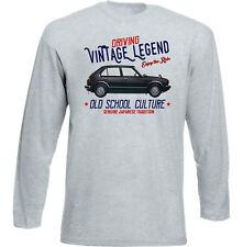 Vintage Japanese Voiture Honda Civic 1982-Nouveau T-shirt en coton