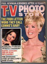 TV Photo Story 4/1968-Barbara Parkins-Connie Stevens-Julie Christie-VG