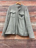 A|X Armani Exchange Zip Up Sweater Jacket Greg Size XL