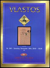 Greece Griechenland Crete Kreta Specialized Auction Catalog Vlastos 2010