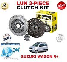 POUR SUZUKI WAGON R+ MM 1.3 RB413 76 BHP 00-04 LUK 3 PIÈCES KIT EMBRAYAGE