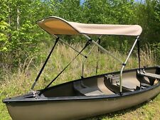 Beige 3' by 5' Canoe / Kayak Sun Shade/Canopy by Cypress Rowe Outfitters