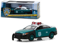 New York Police 2014 Ford Interceptor Diecast Car 1:43 Greenlight 5 inch NYPD