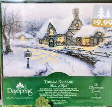 "Thomas Kinkade ""Old Porterfield Gift Shoppe"" Christmas Cards by DaySpring"