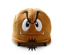 SUPER MARIO BROS. GOOMBA CAPPELLO hat cosplay koopa costume vestito hut peluche