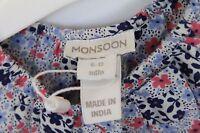 Monsoon baby girl summer party dress 6-12 months BNWT