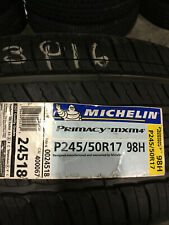 1 New 245 50 17 Michelin Primacy MXM4 Tire