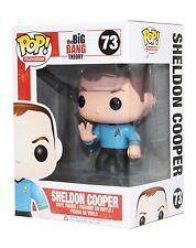 Funko POP! Sheldon Cooper Spock Big Bang Theory Vaulted #73 good box star trek