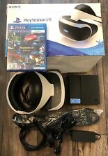 *Sony PlayStation VR Headset for Playstation 4 (PS4) PS W/ Bonus VR Demo Game*