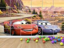 CARS FLASH MCQUEEN AND SALLY  POSTER CHAMBRE ENFANTS ROOM KIDS
