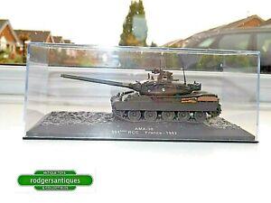 Altaya 1:72 Diecast Model AMX-30 501st RCC Tank Regiment French Battle Tank 1982
