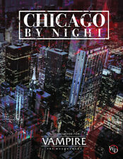 Vampire: The Masquerade 5th Ed Chicago by Night hardcover sourcebook ONXVTM5001