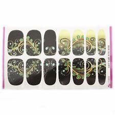 Pop Beautity Women Nail Art Water Transfer Sticker Flower Manicure Tips Decor