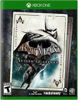 Batman Return to Arkham - Microsoft Xbox One [XBONE Action Adventure] NEW