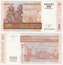 Madagascar 500 Ariary 2004 P-88d NEUF UNC Uncirculated Hybrid Banknote
