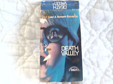 DEATH VALLEY VHS 80'S SLASHER HORROR PAUL LE MAT CATHERINE HICKS 1982 MCA VIDEO