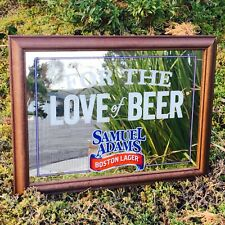 Samuel Adams Boston Lager Brewery Beer Bar Pub Cave Mirror For The Love Of Beer