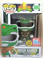 Funko Pop Green Ranger Glow # 360 Power Ranger NYCC 2017 Exclusive Vinyl Figure