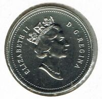 1993 Canadian Proof Like Caribou Twenty Five Cent coin!