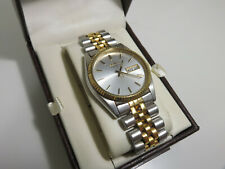 SEIKO QUARTZ MEN'S GOLD TONE STAINLESS STEEL WRIST WATCH / Only $0.01!!! 👀🔥