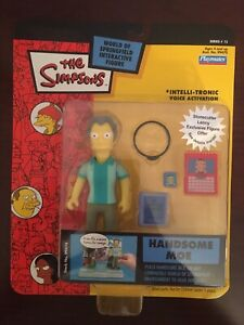 New - HANDSOME MOE Simpsons Playmates WOS Series 15 Figure WORLD OF SPRINGFIELD
