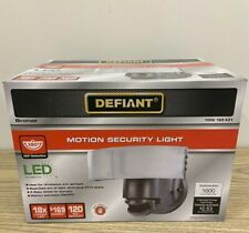 Defiant Motion Security Light Bronze 1002169631 LED 1600 Lumens 180 Degrees