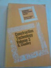 Construction Technology: v. 3,R. Chudley