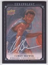 COREY BREWER 07-08 UD Chronology AUTO RC 73/99