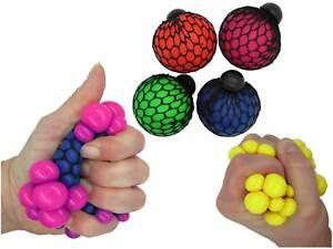 Quetschball im Netz Knetball Knautschball Anti Stressball Stress Ball Quetschen